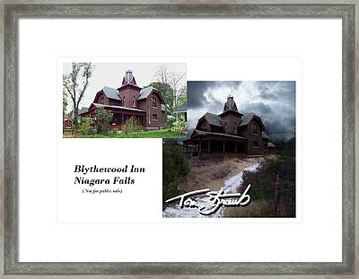 Blythewood Inn Framed Print by Tom Straub