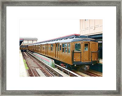 Bmt Standard Framed Print by Jim Poulos