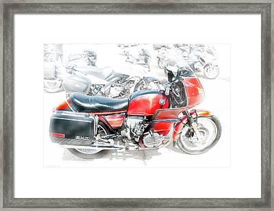 Bmw 100 S Airhead Framed Print by Britt Runyon