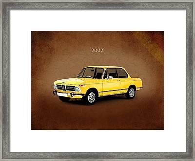 Bmw 2002 Framed Print by Mark Rogan