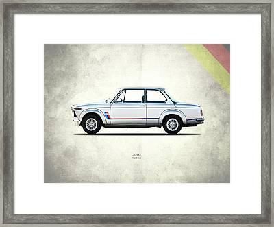 Bmw 2002 Turbo Framed Print by Mark Rogan