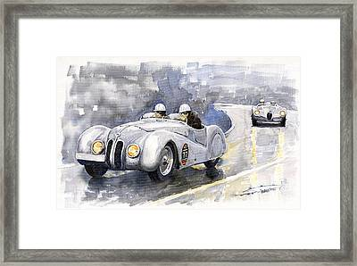Bmw 328 Roadster Framed Print