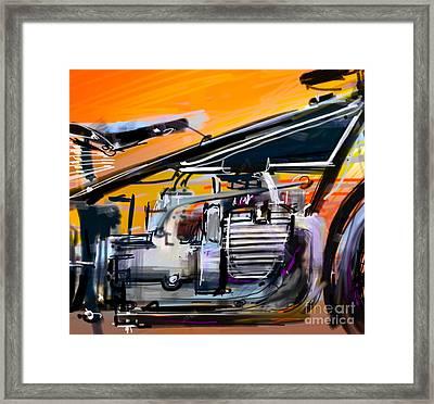 Bmw Classic Framed Print