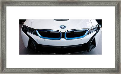 Framed Print featuring the photograph Bmw E Drive I8 by Aaron Berg