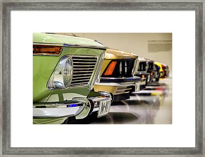 Bmw Evolution Framed Print
