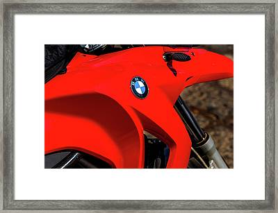 Bmw Gas Tank Framed Print