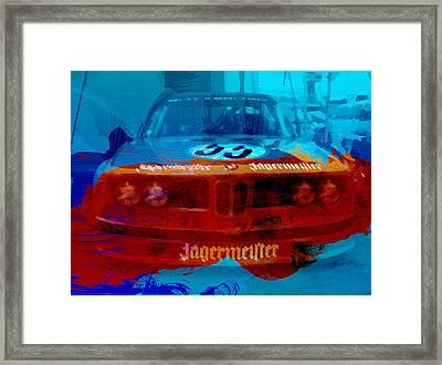 Bmw Jagermeister Framed Print by Naxart Studio