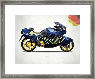 Bmw K1 Framed Print