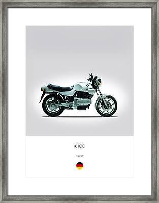 Bmw K100 1983 Framed Print