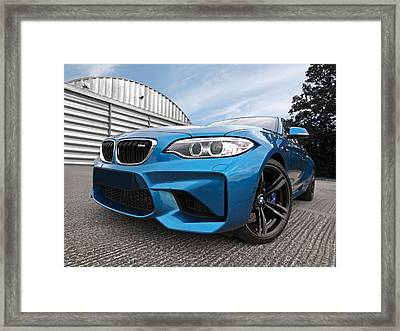 Bmw M2 Coupe Framed Print
