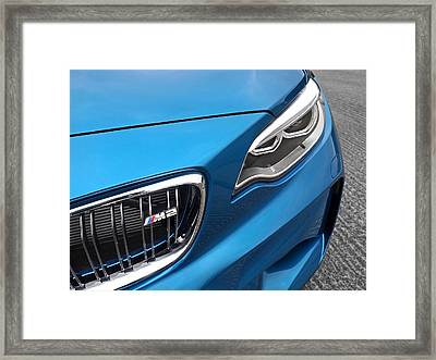Bmw M2 Grille Framed Print