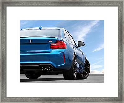 Bmw M2 Rear Framed Print