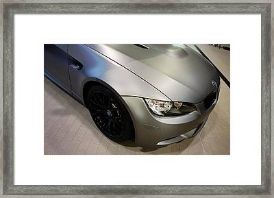 Framed Print featuring the photograph Bmw M3 by Aaron Berg