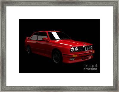 Bmw M3 E30 Framed Print