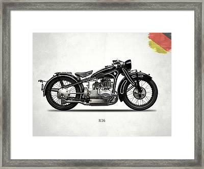 Bmw R16 1930 Framed Print