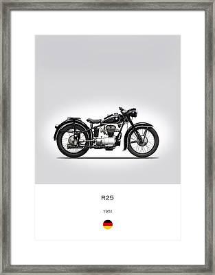 Bmw R25 Framed Print by Mark Rogan