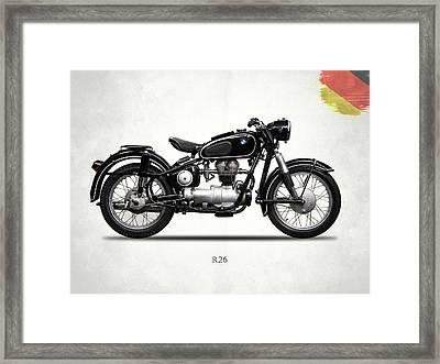 Bmw R26 1958 Framed Print