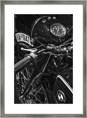 Bmw R5 Framed Print by Pablo Lopez