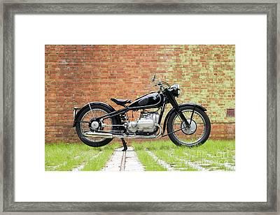 Bmw R5 Framed Print