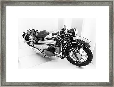 Bmw R7 1934 Prototype Framed Print