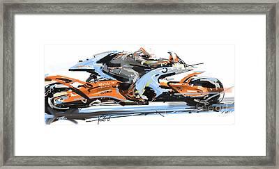 Bmw Racer 2 Framed Print
