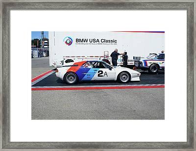 Bmw Racer Framed Print