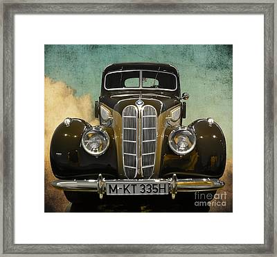 Bmw Vintage Dream Car Framed Print by Mary Machare
