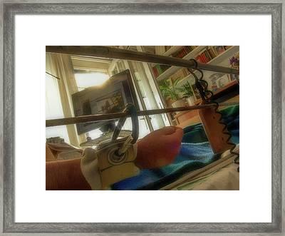bnw_10 The Dusk Of Man Framed Print
