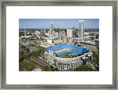 Boa Stadium In Charlotte Framed Print by Clear Sky Images