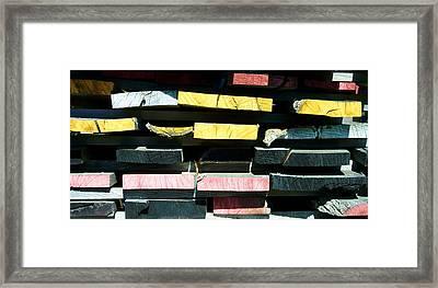 Board Ends Framed Print