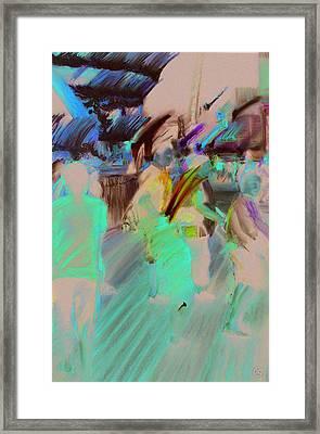 Boardwalk Buzz Framed Print by Paul Autodore