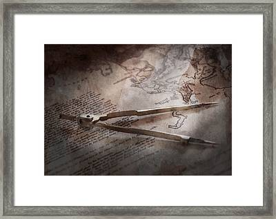 Boat - Sailor - We Are Ready To Sail  Framed Print by Mike Savad
