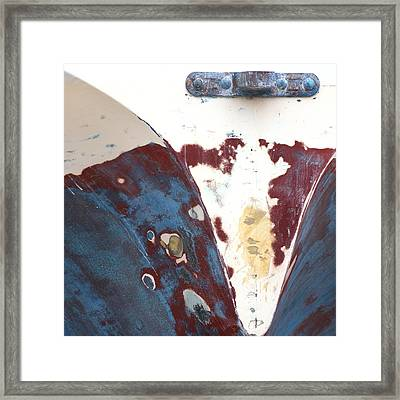 Boat Abstract Framed Print by Art Block Collections