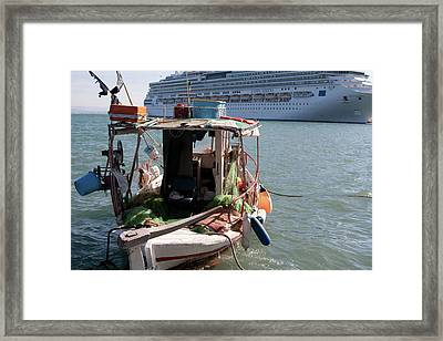 Boat And Ship Framed Print