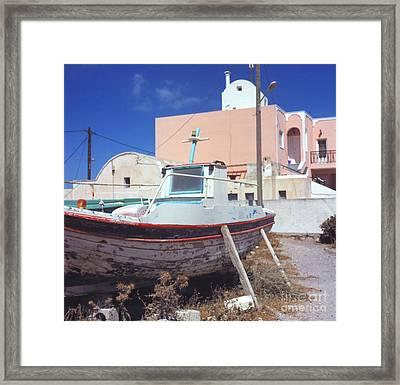 Boat Framed Print by Andrea Simon