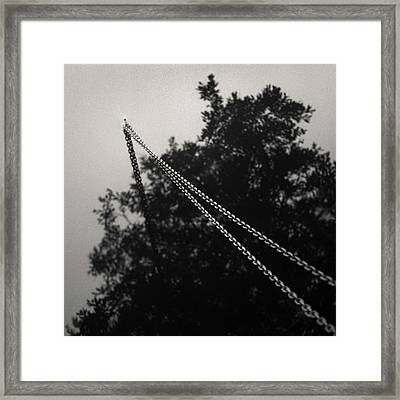 Boat Chain Framed Print by Dave Bowman