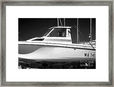Boat Dreams Framed Print
