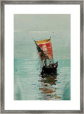 Boat Framed Print by Helal Uddin