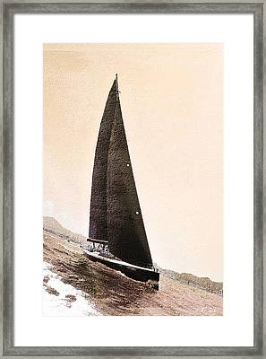 Boat  Framed Print by Jean Francois Gil
