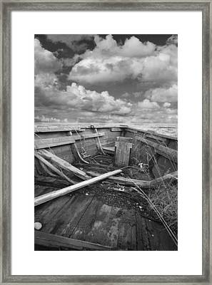 Boat Of Yesteryear Framed Print