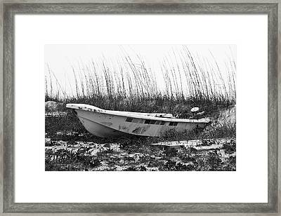 Boat Owner's Statement Framed Print