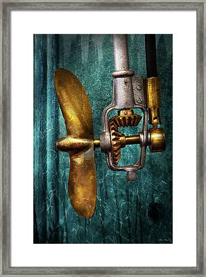 Boat - Propulsion  Framed Print