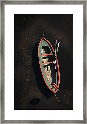 Boat Framed Print by Silvia Bruno