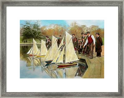 Boat - Sorry Kids This Ones Mine 1910 Framed Print