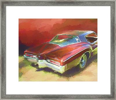 Boat Tail Buick Framed Print