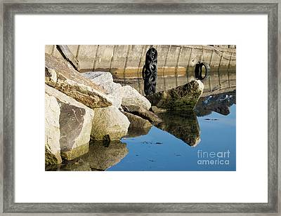 Reflections Rock Framed Print