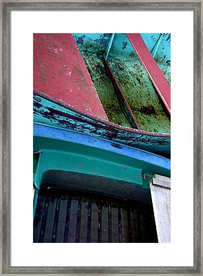 Boated Framed Print by Jez C Self
