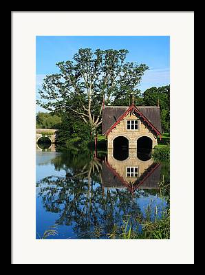 Boathouses Framed Prints