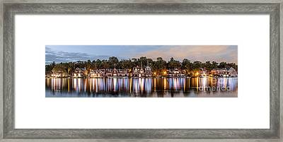 Boathouse Row Lftc Framed Print
