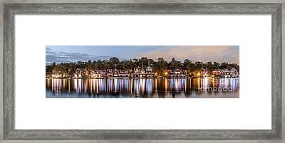 Boathouse Row Lftc Framed Print